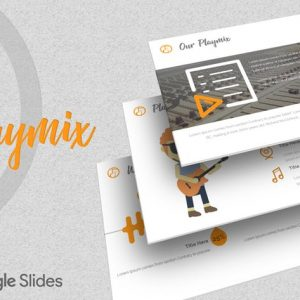 Playmix - Google Slides Template