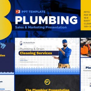 Plumbing Industry Powerpoint Template