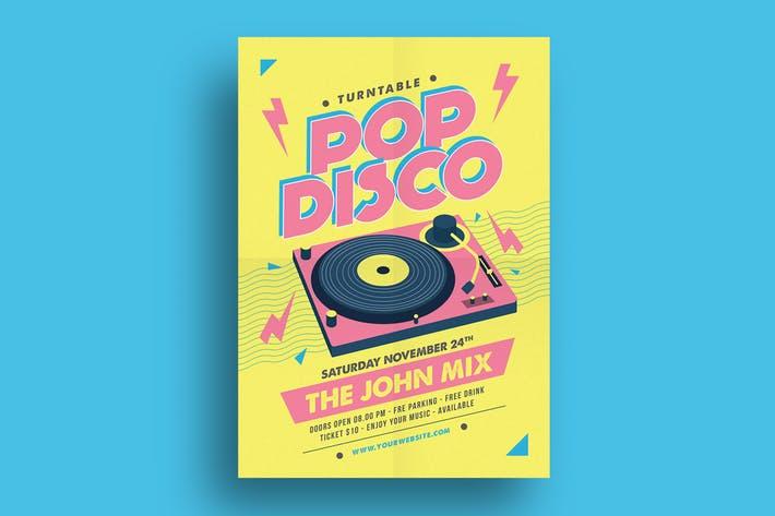 Pop DIsco Flyer