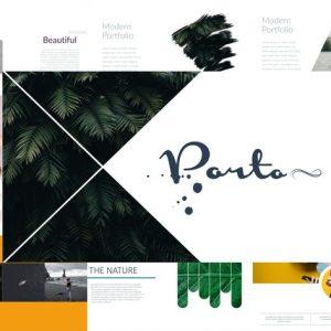 PORTO - Portfolio Powerpoint Template