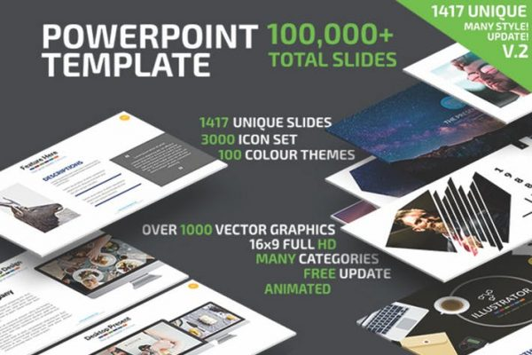 Powerpoint Presentation Template Update V.2