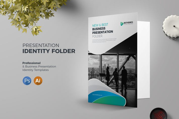 Presentation Folder Template 02