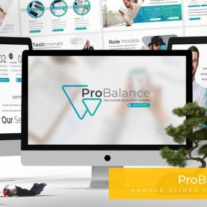 Probalance - Google Slides Template