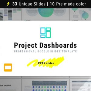 Project Dashboards for Google Slides