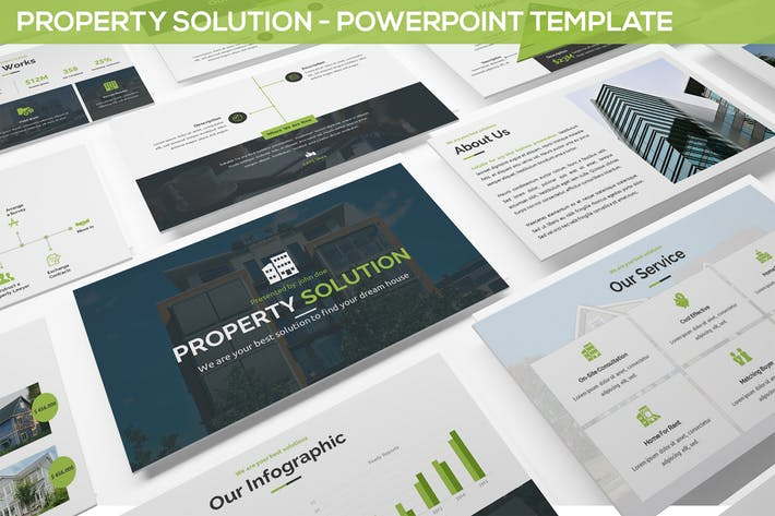 Property Solution - Powerpoint Template