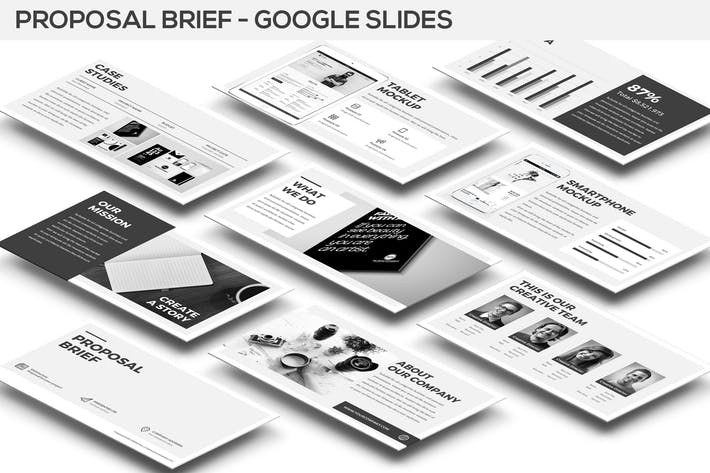 Proposal Brief Google Slides Template