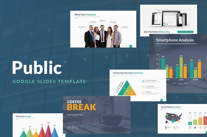 Public Google Slides Template