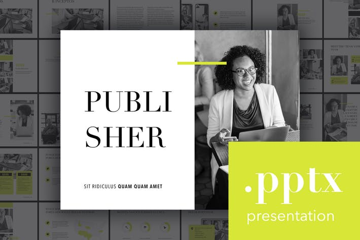 Publisher PowerPoint Template