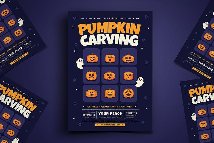 Pumpkin Carvin Flyer
