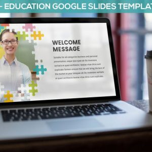Puzzle - Education Google Slides Template