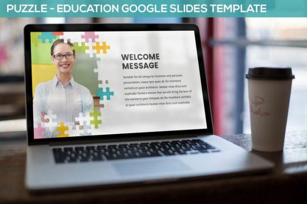 Puzzle - Education Google Slides Template