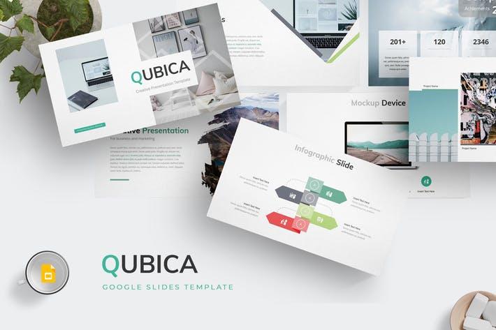 Qubica - Google Slides Template