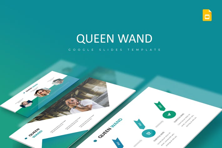 Quenn Wand - Google Slides Template