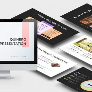 Quinero : Healthy Lifestyle Powerpoint Template
