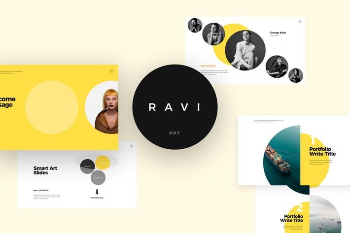 RAVI Powerpoint Template