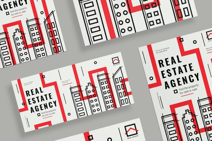 Real Estate Agency Flyer and Poster Template