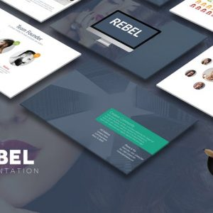 REBEL Powerpoint Template