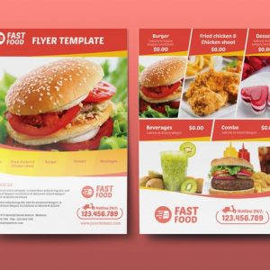 Restaurant/ Fast Food - Flyer Template