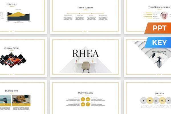 Rhea Presentation Template