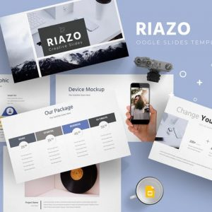 Riazo - Google Slide Template