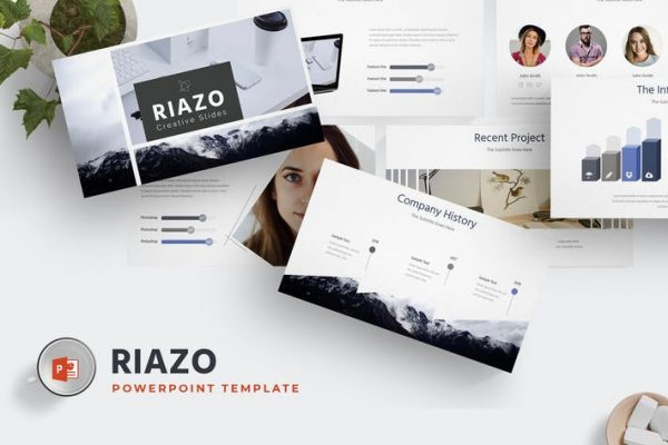 Riazo - Powerpoint Template