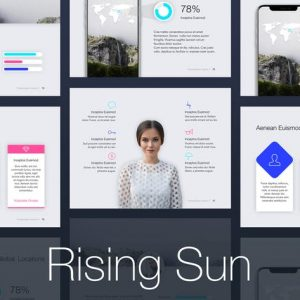 Rising Sun PowerPoint Template