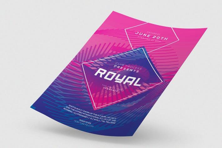 Royal Flyer / Poster