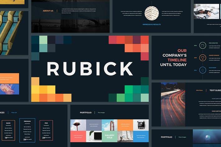 Rubick Presentation Template