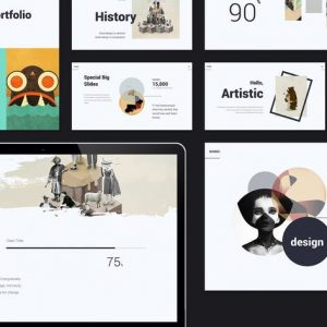 RUNDO - MInimal & Creative Template (PPT)