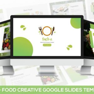 Ruoka - Creative Food Google Slides Template