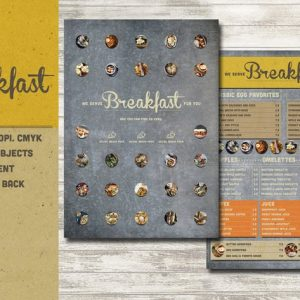 Rustic Breakfast Menu