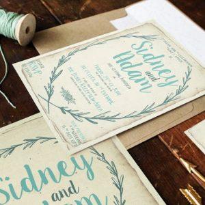 Rustic Wreath Wedding Package