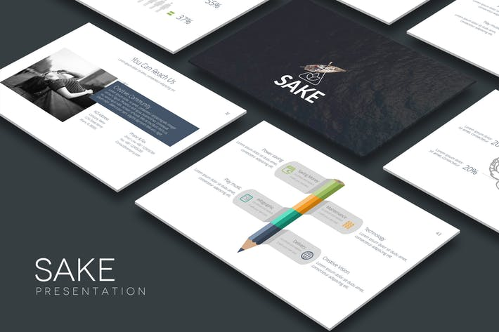 SAKE Powerpoint Template