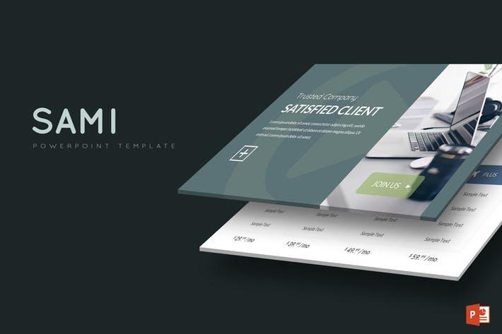 Sami - Powerpoint Template