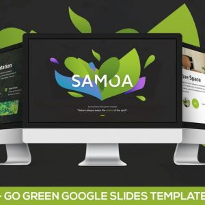 Samoa - Go Green Campaign Google Slides Template