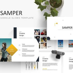 Samper - Google Slides Template