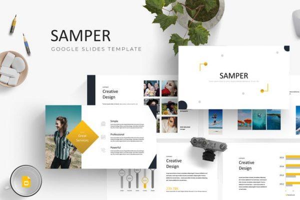 Samper - Google Slides Template