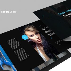 Sandy - Google Slides Template