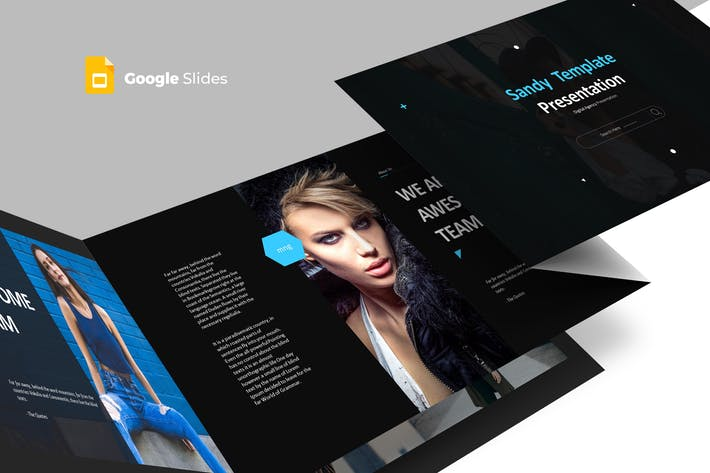Sandy - Google Slides Template