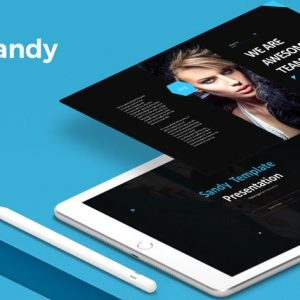 Sandy - Powerpoint Template