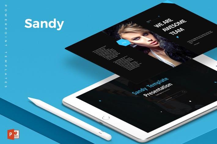 Sandy - Powerpoint Template