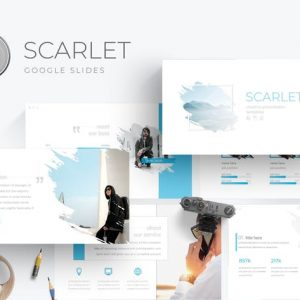 Scarlet - Google Slides Template