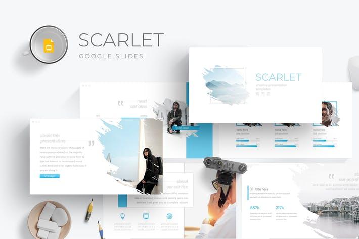 Scarlet - Google Slides Template