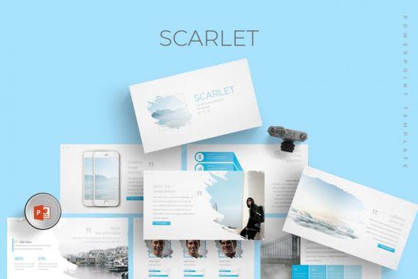 Scarlet - Powerpoint Template