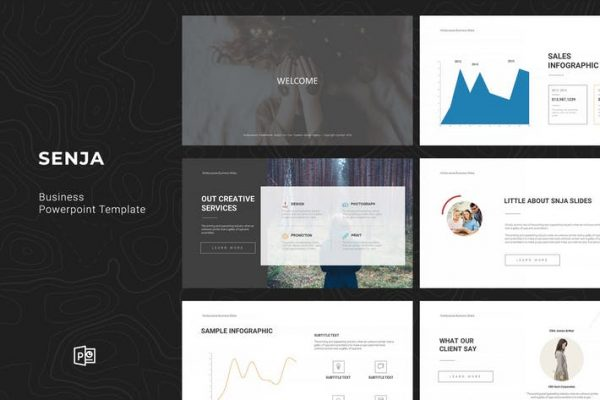 Senja Powerpoint Template