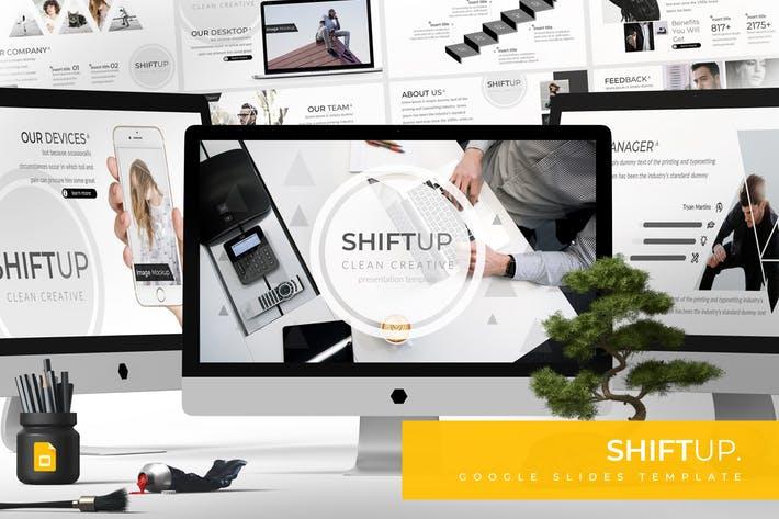 Shift Up - Google Slides Template