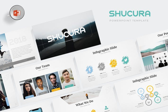 Shucura - Powerpoint Template