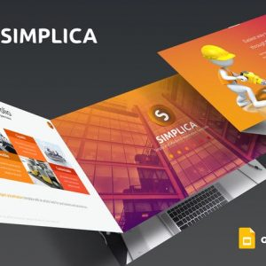 Simplica - Google Slides Template