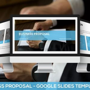 Simply Business Proposal - Google Slides Template