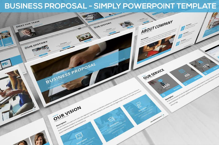 Simply Business Proposal - Powerpoint Template